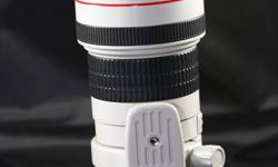 I have a used 400mm F/5.6L USM lens for sale and its in excellent condition. It was bought in 2010 and the date code is 2010. Lens come with original box and all accessories that it came with. Reason for selling is that I just don't use it anymore.