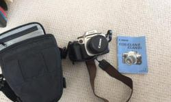 This camera is in excellent condition with a 28-80 lens and a flash BraunHobby 17 BC the instructions and an extra battery included