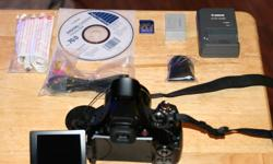 I am looking to trade my mint condition Canon SX30 IS high zoom camera with HD video recording for a HD camcorder, preferably with built in flash memory. The camera is less than six months old and has been gently used. Decided to go with a DSLR camera