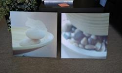 Don't have room for these two canvases, take them both for $10 40*40 cm