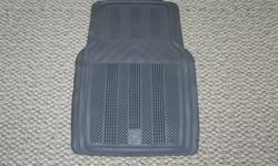 CAR ALL-WEATHER FLOOR MATS Tough, durable All-Weather Floor Mats help protect your vehicle?s original factory carpet. As capable as the vehicle they?re made for, these solid one-piece floor mats feature a ribbed channel design that helps contain moisture,