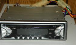 JVC cd receiver. Works great ( just sold car)Comes With detach. face plate and manual Call Mark at 346-4076