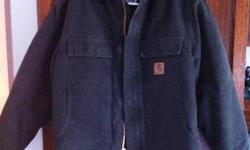 BRAND NEW CARHARTT WINTER JACKET   SIZE LARGE BOUGHT THIS JACKET FROM A CARHARTT SALES REP - IT WAS TOO BIG FOR ME AND HAS BEEN IN STORAGE EVER SINCE   $150 OBO