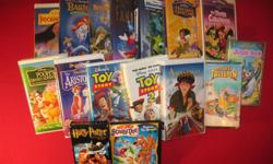 - The Jungle book (Walt Disney Classics) VHS - Search for the Lost City (Disney's Tale spin) VHS - Pooh's Grand Adventure (The Search for Christopher Robin) VHS - Fantasia (Walt Disney Masterpiece) VHS - Anastasia VHS - Toy Story VHS - Toy Story 2 VHS -