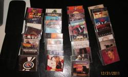 "I have a mix of cd for sale, there's 41 cd in all it a mix of different music, and there 2 cd holder for your visor, they are all original""s NO BURNED one, make me an offer,,,,thks"