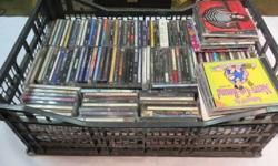 150 CDs, condition varies from used to brand new. Johnny Cash, Beastie Boys and more. Come to preview all items on Sunday May 01, 2016 3PM to 5PM at 6215 Ontario St., Vancouver BC, V5X3E8 or view catalog and pictures online at MaxSold (use Google or find