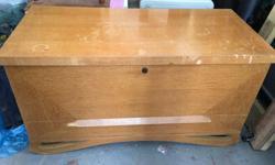 Cedar chest $70