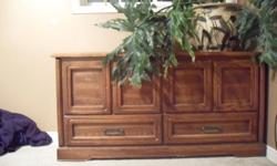 Slightly marked   Opens from top only. approximately 2.5 ft tall. 2 feet wide and 4ft long. cedar oak Lots of space for storage. Make offer. Want gone asap.