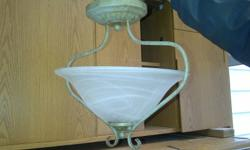 3 Light fixtures for sale.   All ceiling mount. Work great, just have no place for them.   Would like $5 for the first one.   $2 for the second (silver).   $10 for the 3rd.   Make an offer, and please take a look at my other items!