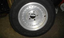 selling a pair of center line rims aluminum 14 inch extra nice . with out tires selling for 125.  and want 200 for them with the new hankooks that are on them ..will fit gm bolt pattern 4 3/4 in