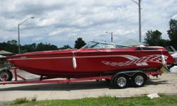 This boat is a must see two 454's and red and white interior.  Get er ready for summer fun in the sun !!