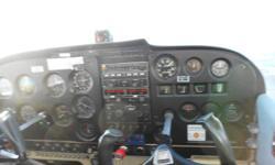 Cessna 172 Skyhawk 0-360 Lycoming (450hrs) Located in Gatineau (CYND) C-FSMO or 15 000 1/4 share +++ Possibilité d'échange contre article de meme valeur +++