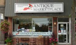 The Cobourg Antique Marketplace is a multi-vendor store filled with wonderful antiques and collectibles.  It is located at 66 King Street, East in downtown Cobourg, across the street from Victoria Park.  Chantal's Antiques has been a part of this antique