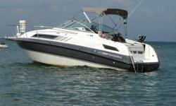 1991 Chaparral  2370  SL- 24 FT. Comes with 5.7L 260 HP Merc inbroad outbroad aft cabin, fridge, stove, shower, pump out head, VHF, GPS, AM/FM with 10 cd pack,tandem trailer with surge brakes. asking 15,000.00 or best offer.
