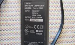 LI-ION  Battery Charger, Model LI-10C.  Got rid of the camera but forgot to include the charger.