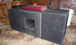 """I have two 10"""" orion subs and a 600watt dual amp and two Schosche Capacitors i uprgarded so no longer need these. The two 10"""" orions are in an encosed box Call or text 306 930 3655 or email make me a deal"""