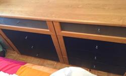 8/10 condition, the chest of drawers has two small imperfections, barely noticeable!
