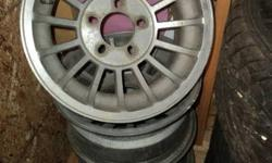 These rims came off late 70's early 80's chev-gmc full size van. Good shape. I want 150.00. Call 533-3024