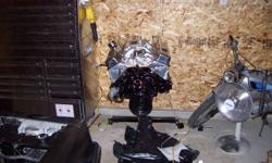 I have for sale a chevy 350 it is a new crate motor that was ordered from C.E.P here in lethbridge, I bought the engine for 3300, Then when I got it I put a different cam in it ( comp cam 280) new lifters and comp push rods, brand new Edlebrock performer
