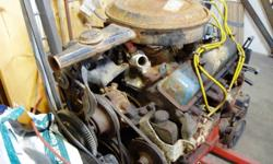 This is a 2 bolt main 1980 Chev engine that was in a 1980 dually that I scrapped. The engine ran great but the truck was rusting away. Not the original engine - not sure how many kilometres. Engine looks ugly in pictures but is a good engine. Comes