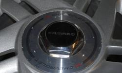 Excellent shape 5 bolt chevy Camaro rims,( set of 4 ) 16X8 with 2 3/4' center, not bent minor pitting, all bolt holes are clean w/ no wear. Very good deal will fit more than just a Camaro. Very standard bolt pattern. Minor Curb scratch. Make me an offer.