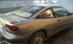 "1995-1999 Chevy Cavalier 2dr parts   Doors, bumpers, headlights, hood, 14 & 15"" rims & tires, tail lights & more   Please respond to ad for prices     I also have 1996-1998 & 1999-2005 Grand Am parts     Sunfire parts, Jimmy parts, F-150 parts I can trade"