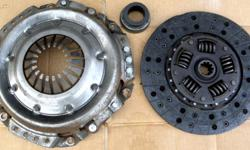 Chevy Luk Clutch 65 66 67 68 Chevelle Camaro Impala Corvette Used Luk Chevrolet 65 66 67 68 69 70 Chevelle Camaro Corvette Impala Clutch Pressure Plate, Disc,& throwout bearing 10.5 diameter ,10 spline input shaft part # 04-021 show wear $50. Shipping is