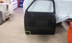 i have a left door for a chevy truck 73-87.its a factory gm door not a taiwan door.its straight, no dents,but needs a bit of work at the bottom front corner in the outlined areas.$40  519-374-7620 on the cell days or 519-376-1450 between  6 pm to 10 pm at