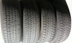 """Hello, I have 4 Chevy Venture  Tires and Disks(Rims). Front tires are good for 2-3 more seasons, back tires 1 season. 30$ per each, selling just because someone might need 15"""" disk(rim). Plastic Covers are availiable as well."""