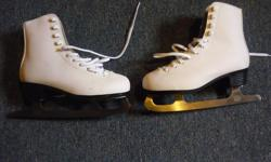 Child's skates Made by PTX Size 4 Used only once. Blades have been professionally sharpened. Located in Barrhaven.