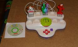 Childrens computer games They are plug and play One is Fisher Price with Sesame street, Fisher price, and Dragon Tales Just plug into your computer then child puts which ever character they want into the game slot, it then takes them to a secure website