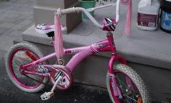 18 inch bike in great condition -- Free Spirit brand -- ready for pick up anytime!
