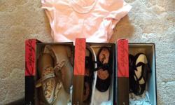 Tap Shoes (Tan) Children's size 11 - $20 Tap Shoes (Black) Children's size 10 - SOLD Tap Shoes (Black) Children's size 8 - $20 Tap Shoes (Black) Children's size 12 - $15 All in excellent conditions.