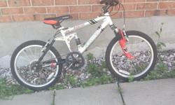 -Excellent condition! Must see! - Not exposed to elements, always stored in garage - Schwinn bicycle - Shimano rails - Alloy tuning - Front and rear reflectors - 6 gears - Trail tuned - 7005 aluminum main frame - Tire treads in excellent condition - Great
