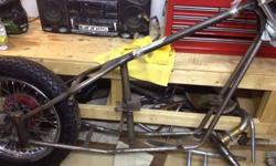 New, never used, BCS plunger chopper frame for 650cc or 750cc triumph engine. Have original bill of sale and other paper work. This ad was posted with the Kijiji Classifieds app.