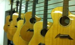 Music Place Christmas sale is now on! Acoustic guitar packages starting at $99.00.  Includes a full size guitar, bag, strap, picks, and extra strings. A perfect package for the beginner guitarist.  30% discount on all in stock Breedlove, Crafter, and