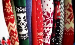 Christmas (Ugly) Sweaters, going for $2 - $5. At CCA, 404 May St, N. Mon-Sat 10am-5pm, 474-3583.