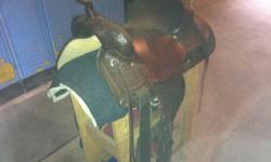 """Dark oil circle y trail saddle. Nice big saddle, 16"""" seat. Comfortable seat and supple leather. Great condition, hardly used. New Liskeard area $1200.00 obo This ad was posted with the Kijiji Classifieds app."""