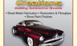 Classic & custom auto body restoration & fabrication. Specializing in panel beating & custom fabrication for all makes & models. Street, show & concourse finishes. Division of  Mitek Fine Auto Inc. Kitchener, Ontario. http://www.riotzcreations.com