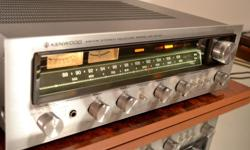 WORKS AND SOUNDS GREAT, NO ISSUES SERVICED IN JUNE 2016 Clean, dust-free, smoke-free. All lamps work, all controls are noise-free, bias voltages were set to 15mV L/R, per factory specs, DC offset is below 10mV. Loud, sweet, clean sound, very nice musical