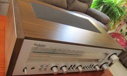 LIKE NEW, EXPERTLY SERVICED 100% ORIGINAL, NEVER REPAIRED LOW LOW MILEAGE All lamps are original and they ALL work Dust-free, smoke-free One of the nicest receivers Technics ever built. FM stereo reception is exceptional and the sound is extremely