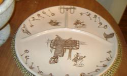 I have 7 western traveler plates in mint condition These plates are hard to find and actually fairly rare. They sell on another popular site for $85.00 a plate where another person has six of these for $475.00 and sold them for that price.   If someone
