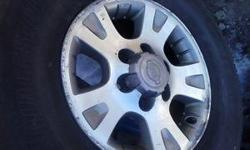 "OWN A SECOND SET OF FACTORY ALLOY LIGHT WEIGHT WEELS & START..... SAVING ON INSTAL ..... BAL...... FUEL .... EVERY SEASON ..... JUST SWAP & GO ! SET OF 6X139.7 SUV & TRUCK NISSAN 16"" RIMS WILL FIT "" 2004 & OLDER "" P.FINDER, XTERRA, FRONTIER, INFINITI QX4"