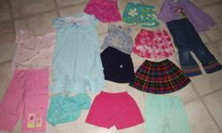 Everything in the picture is for this price. All clothing is in great shape.