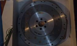 Aftermarket lightweight flywheel for Nissan 240sx with either a KA24E or KA24DE motor. Never installed, still in box!