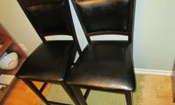 Two bar stools - mint condition $199.00 for both obo