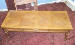 Coffee and end tables slightly used.  Are slightly used good for a starter home or apartment.