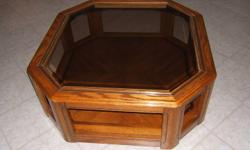 """Coffee table for sale asking $8.00 it's 38"""" by 38"""""""