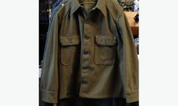 AUTHENTIC CDN MILITARY, COLD WEATHER WOOL SHIRT , VERY GOOD QUALITY AND VERY WARM, MOST SIZES AVAILABLE. GOOD VALUE AT THIS PRICE. HAVE A LOOK AT MY OTHER GEAR: greengear.usedottawa.com Churchill and carling area