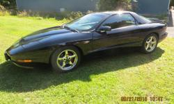 Make Pontiac Model Firebird Formula Year 1997 Colour Black kms 66300 Trans Manual 1997 Firebird Formula WS6. Excellent condition. Never winter driven, one owner. Safetied and etested until October 7, 2016. New tires, 275-40-17. Six speed manual, 5.7